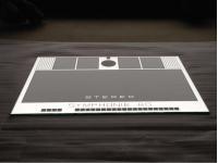neue Front-Spiegelscheibe für Bergmann-S80-Stereo