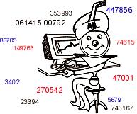Seriennummern Icon